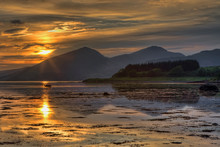 Sunset Over Loch Linnhe