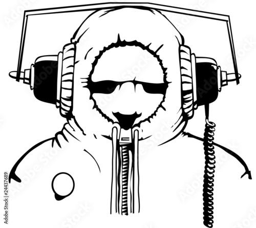 Camden Cyberman Tableau sur Toile