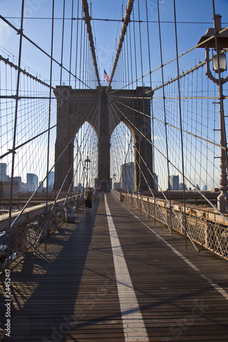 Foto op Canvas Brooklyn Bridge Brooklyn Bridge in New York