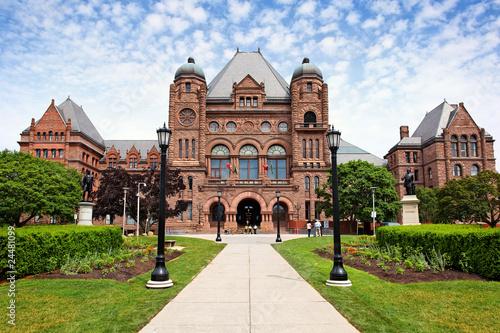 Foto auf Acrylglas Toronto Parlament von Ontario in Toronto