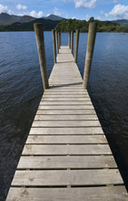 Pier On Derwent Water