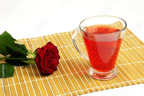 Fototapeta herbatka obraz