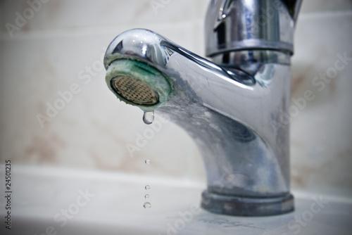 Valokuva  fuite d'eau