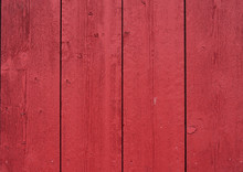 Red Painted Barn Boards Make A...