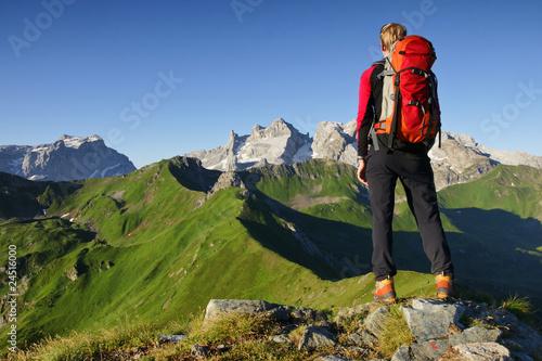 Foto op Plexiglas Alpinisme Gipfelglück
