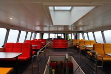 Interior Of A Ferry