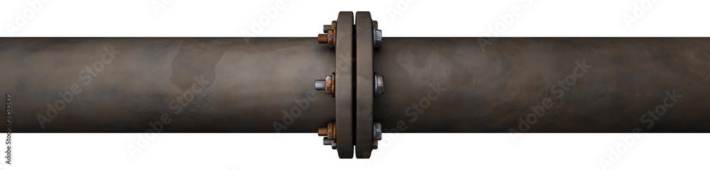 Fototapeta Old Pipeline