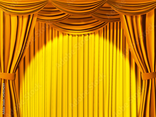 Printed kitchen splashbacks Theater Theatrical curtain
