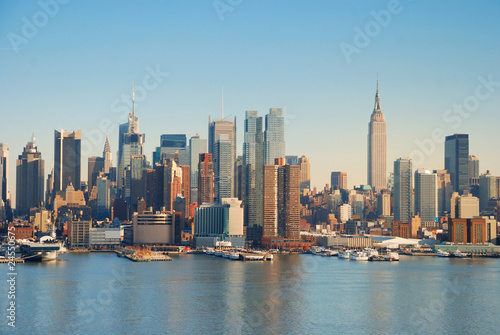 Fototapety, obrazy: MANHATTAN SKYLINE, NEW YORK CITY