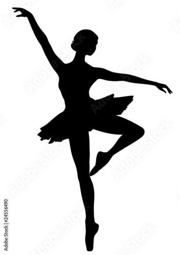 Icona di ballerina Fototapet