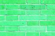 Leinwanddruck Bild - The Wall - Green Concept