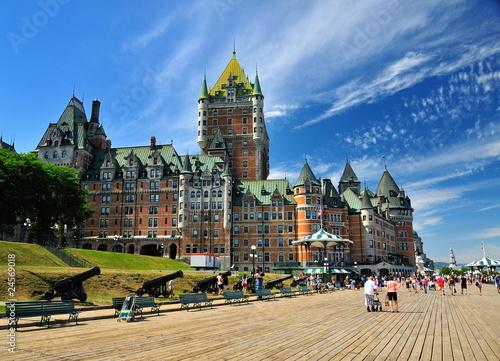 Naklejka premium Zamek w Quebecu.