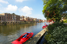 The River Ouse In The City Of York, UK