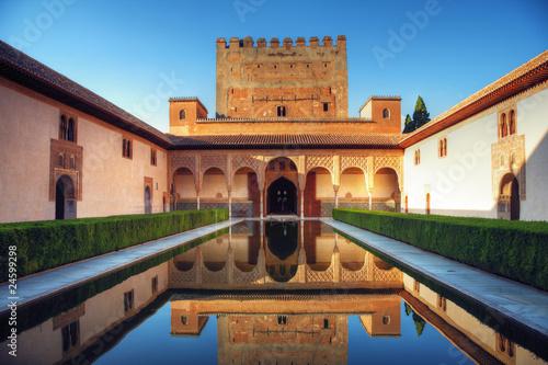 Photo Alhambra palace, Granada, Spain