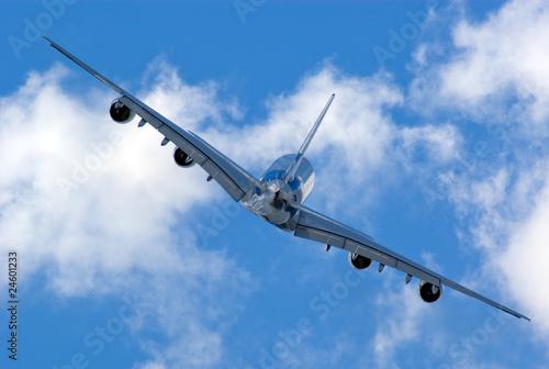 Fotografia  Farnborough Airshow 2010 - Airbus A380 in flight 6