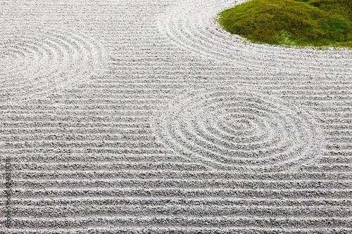 Foto op Plexiglas Stenen in het Zand zen japanese garden