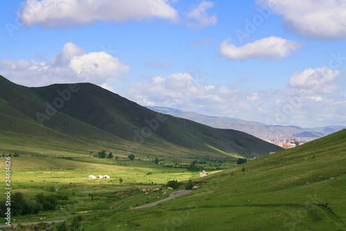Fototapeta Green valley obraz na płótnie