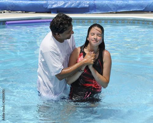 Canvas Water Baptizim