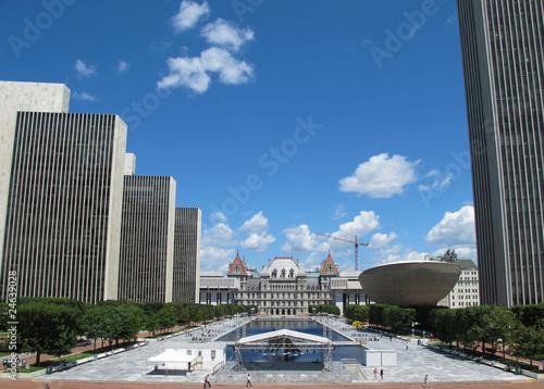 Fotografie, Obraz  Empire State, New York State Capitol, Albanay