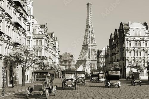 Obrazy Paryż  stara-fotografia-paryza