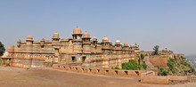 Panorama Of Gwalior Fort