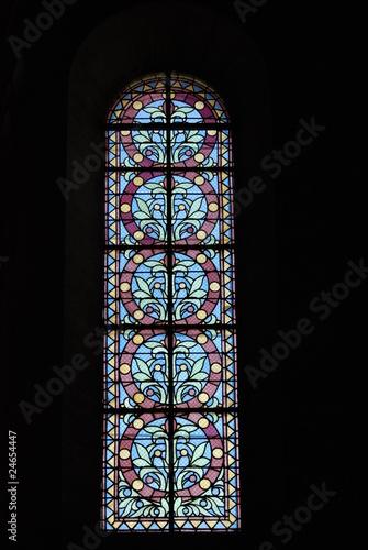 Spoed Fotobehang Stained vitraux
