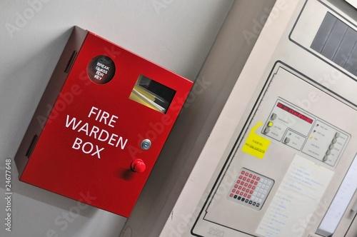 Wallpaper Mural Fire warden box