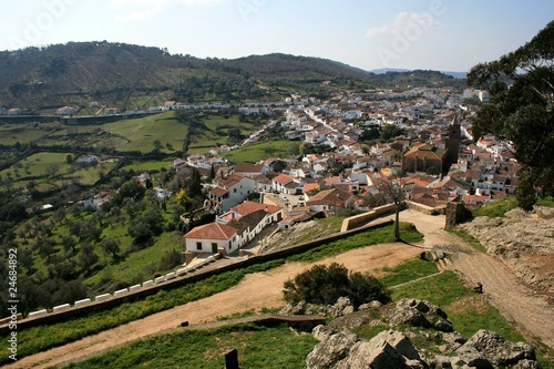 Panorámica de Cortegana, Huelva
