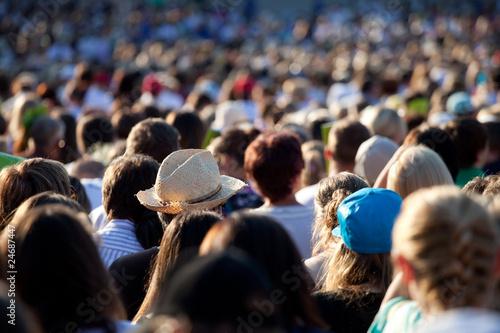 Fototapeta Large crowd of people obraz