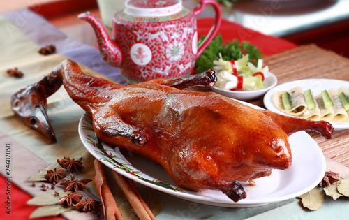 Poster de jardin Pekin Peking Duck, China's most famous dish