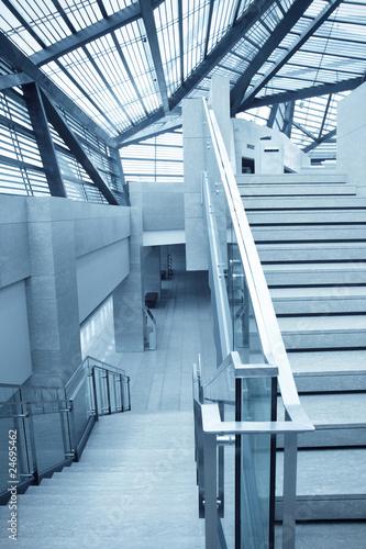 Foto op Plexiglas Stadion staircase
