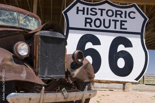 Foto op Aluminium Route 66 route 66