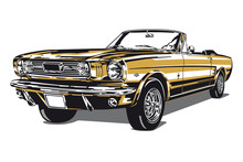 Ford Mustang Gold