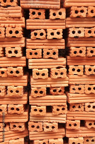 Stack of brickwork