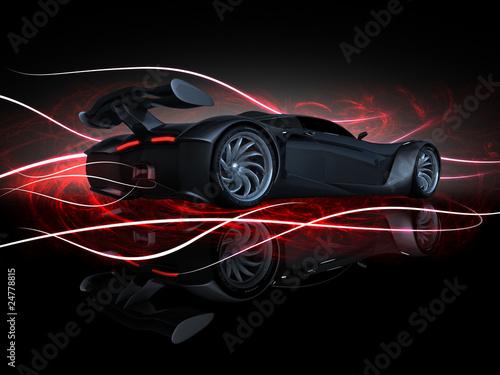 Fotografie, Obraz  PS-final render fire