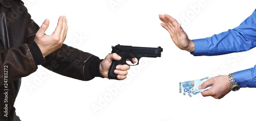 Plakaty o przemocy tlo-zbrojnego-napadu