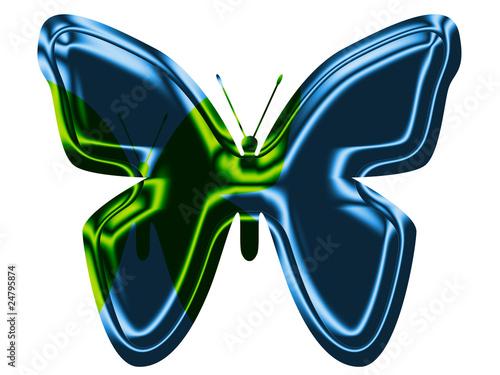 Fotografie, Obraz  Schmetterling Blue