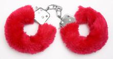 Fluffy Pink Handcuffs