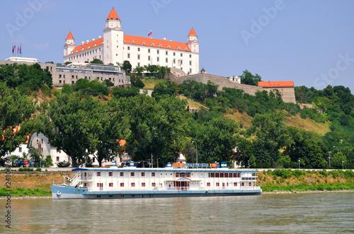 castle in Bratislava Canvas Print