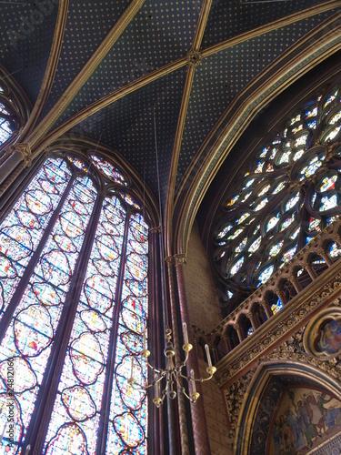Canvas Prints Krakow Sainte Chapelle en Paris (Francia)