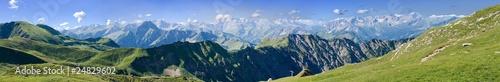 Poster Panoramafoto s Berge - Allgäu - Nebelhorn