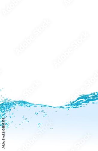 Foto auf Gartenposter Wasser pure water