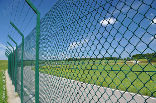 Fotografía  Fence around restricted area