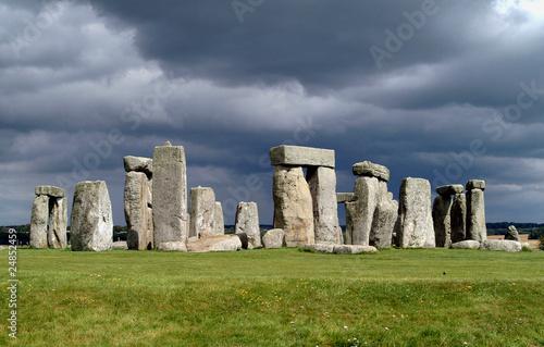 Foto op Aluminium Artistiek mon. stonehenge
