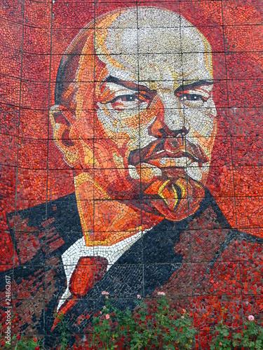 Portrait of Lenin in Sochi © Stoyanov