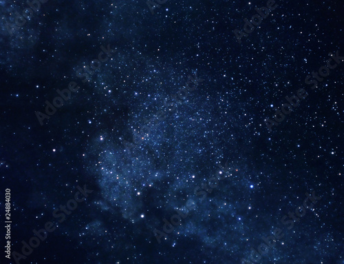 Aluminium Prints Universe Space background