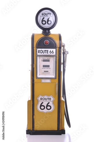 Papiers peints Route 66 Antique fuel pump