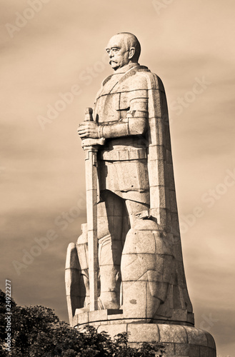 Carta da parati Bismarck-Denkmal in Hamburg