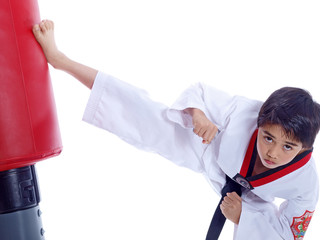 martial arts in childhood