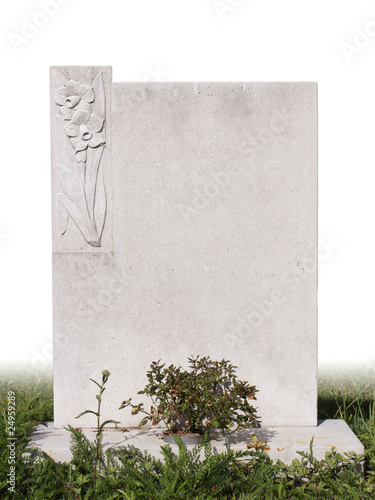 single grave stone - Buy this stock photo and explore similar images ...